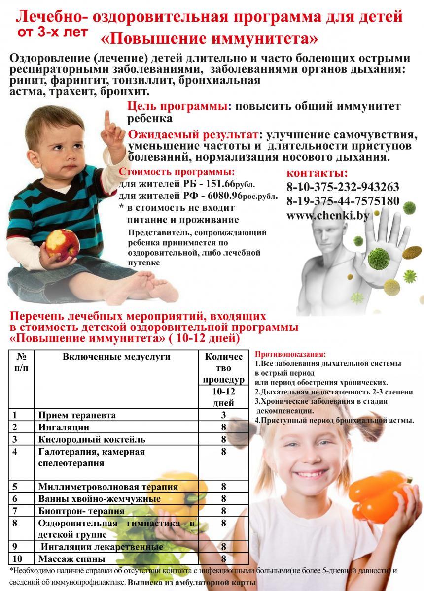 Как поднять иммунитет в домашних условиях ребёнку 648